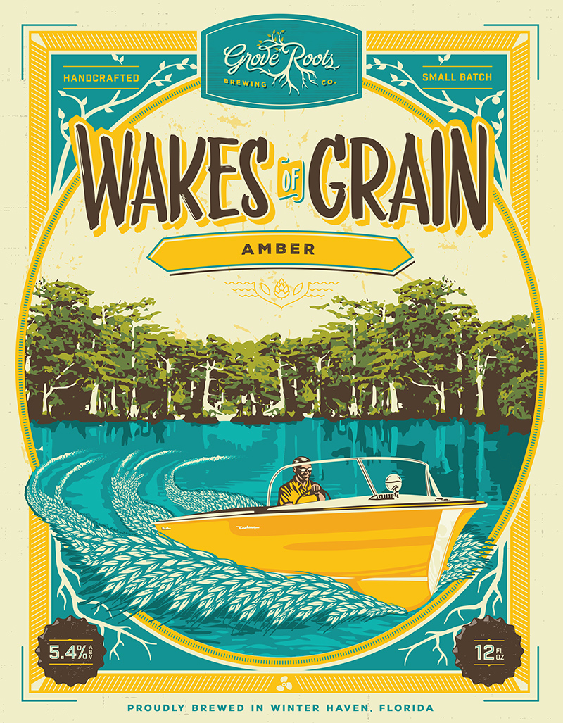 Wakes of Grain